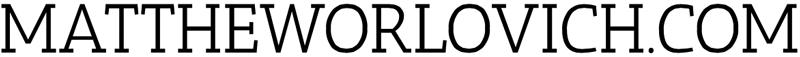 mattheworlovich.com | Australian Composer Retina Logo