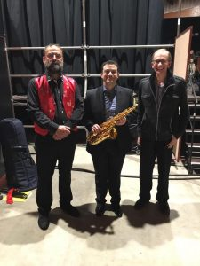 World Premiere – Escapade (for saxophone and band)