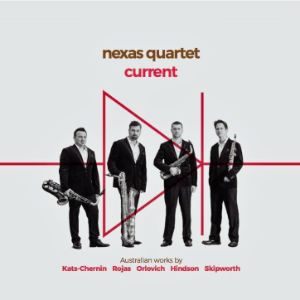 Nexas Quartet CD – Current (2016)