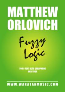 Fuzzy Logic (for alto saxophone and tuba) – By Matthew Orlovich