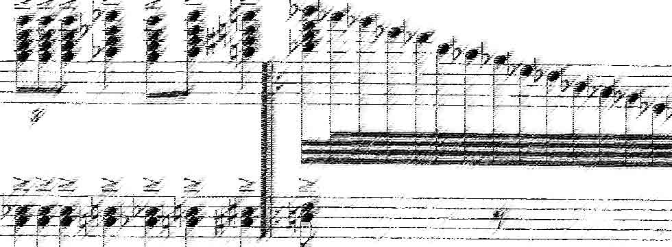 Fragment of Gratification (for solo piano, 2000).