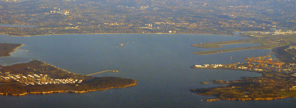 Botany Bay, NSW, Australia.