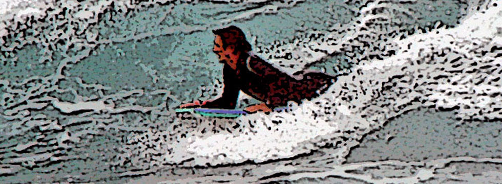 Surfer, Newcastle, NSW, Australia.