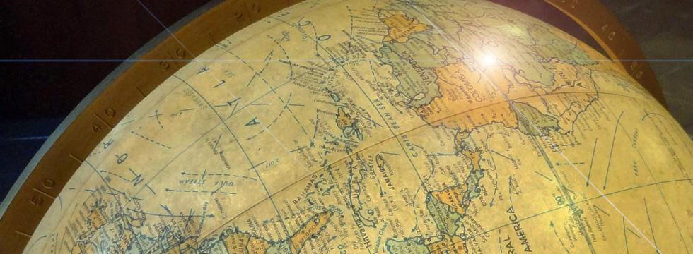 The Globe, Map Room, NYC Public Library, NY.