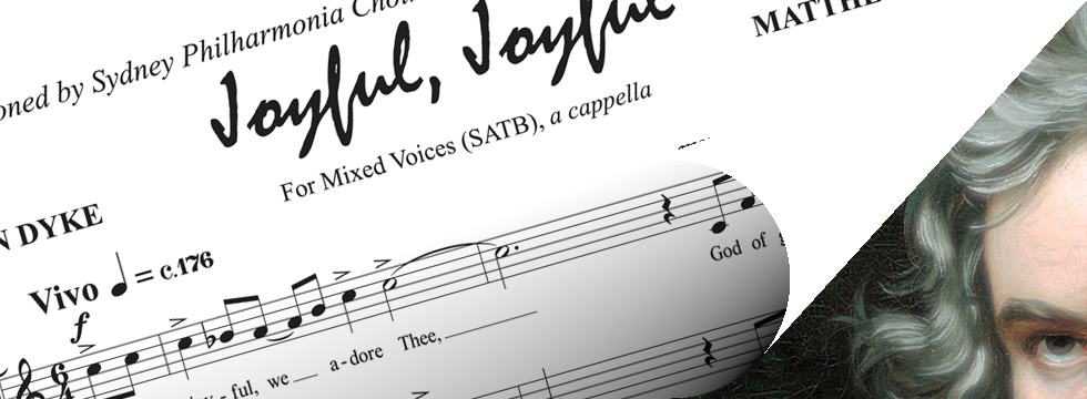 Joyful, Joyful (for SATB choir)